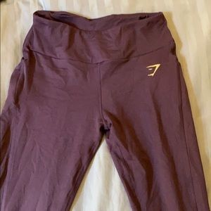Four Gymshark leggings size large